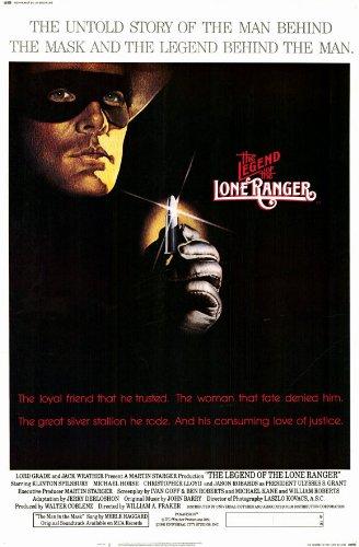 - Legend of the Lone Ranger Poster Movie 11x17 Klinton Spilsbury Michael Horse Jason Robards Jr. MasterPoster Print, 11x17