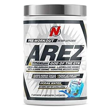 AREZ Titanium Pre-Workout Ocean Water