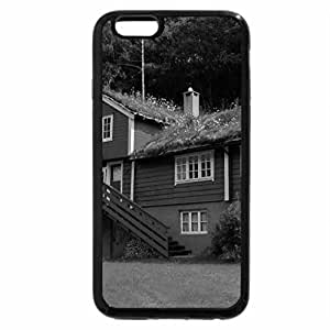 iPhone 6S Case, iPhone 6 Case (Black & White) - Lovely Norway