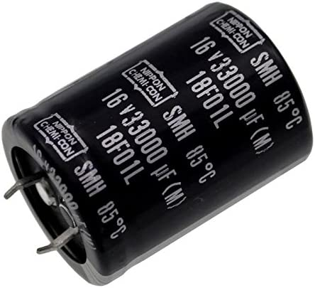 2x Snap-In Electrolytic Capacitor 33000/µF 16V 85/°C ; SMH16VN333M30X40T2 33000uF