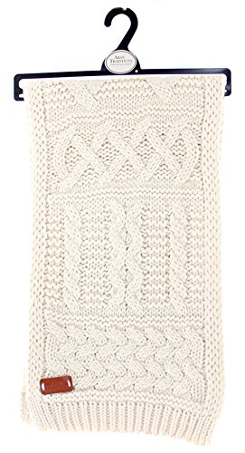 Aran Traditions Cable Knit Winter Scarf ()