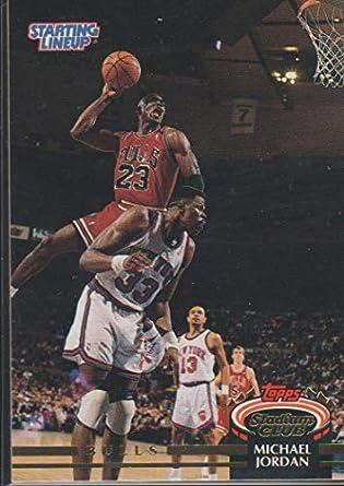 9b86f6d974eb7 Amazon.com: 1993-94 Stadium Club Michael Jordan Bulls Basketball ...