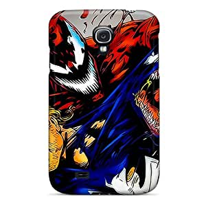 High Quality Shock Absorbing Case For Galaxy S4-venom And Carnage