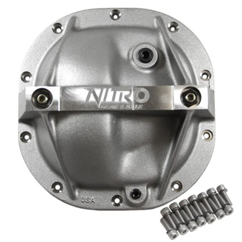 Nitro (NP1806) Aluminum Heavy Duty Girdle Cover for Ford 8.8