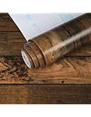 Trätapet träkorn papper peel stick tapet trä vinyl tapet självhäftande tapet överexponerad trä tapet hylla liner papper för väggtatuering täckrulle