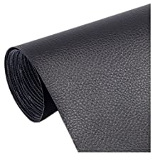 Ancefine Leather Repair Patch,First Aid for Sofa,Car Seat,One Yard … (Black)