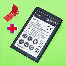 Long Lasting 2400mAh Extended Slim Battery + Folding Bracket for LG Tribute HD LS676 Smartphone