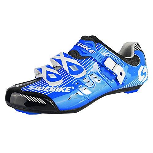 Bike Men's Blue Riding LIVEINU Shoes Cleats Shoe Road 8P5xTaqf