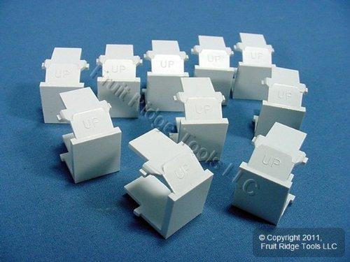Leviton 41084-Bwb White Quickport Blank (Leviton Blank Insert)