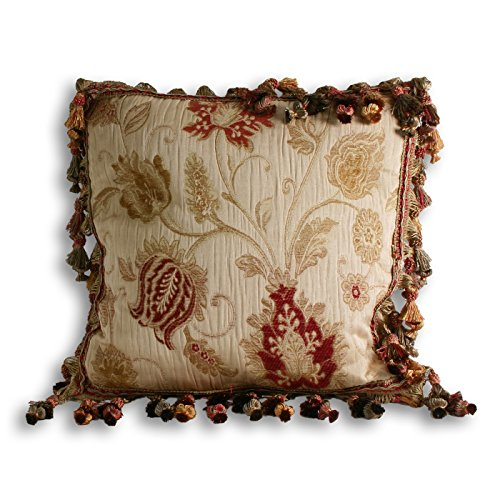 Riva Home Lucerne Cushion Cover (18 x 18 inch) (Champagne)