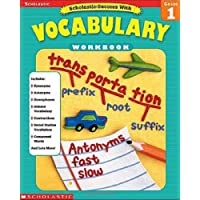 Scholastic Success with Vocabulary Workbook: Grade 1