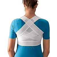 Aparato corrector de postura - con correas transpirables - Alivia el dolor causado por el encorvamiento y la mala postura