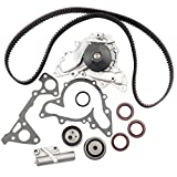 Timing Belt Water Pump Kit, ECCPP for 1995 - 2005 Chrysler Sebring Cirrus Dodge Stratus Avenger Mitsubishi Eclipse Montero Sport Galant 2.5L 3.0L V6 SOHC Eng. 6G72 6G73