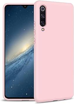 Funda Samsung A70, Rosa Silicona Funda para Samsung A70 Flexible ...