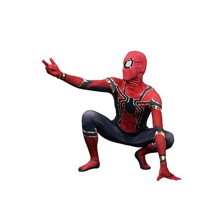 ZGX Disfraz Adulto De Spider-Man, Superhéroe Carnaval Traje ...