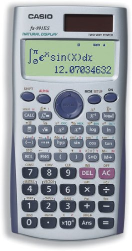 amazon com casio fx 991es scientific calculator electronics rh amazon com fx 991 es plus casio manual casio fx 991 es manual
