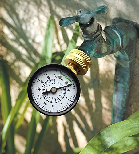 Large Product Image of Rain Bird P2A Water Pressure Test Gauge, 3/4