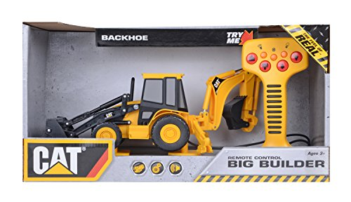 Toy State Caterpillar Big Builder Backhoe Lands Remote - Buy