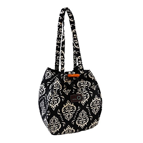 della Q Rosemary Knitting Bag (6'' L x 8.5'' H x 6'' W); 109 Columbia 220-1-109 by della Q