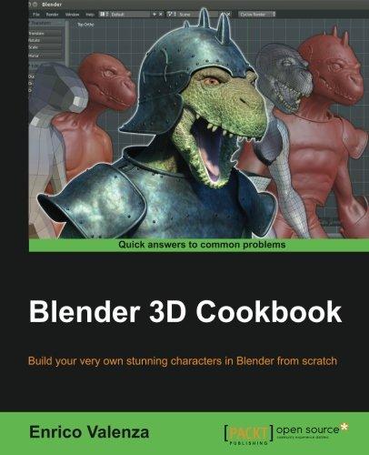 Amazon com: Blender 3D Cookbook (9781783984886): Enrico