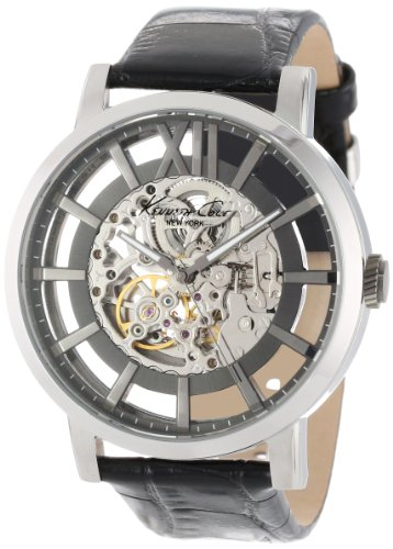 Kenneth Cole New York Men's KC1920 Transparency Automatic Roman Numeral Transparent Dial Watch
