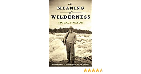 The Meaning of Wilderness: Essential Articles and Speeches (Outdoor Essays & Reflections)