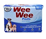 FOUR PAWS TAPETES SUPER ABSORBENTES WEE-WEE PADS 50 PZ