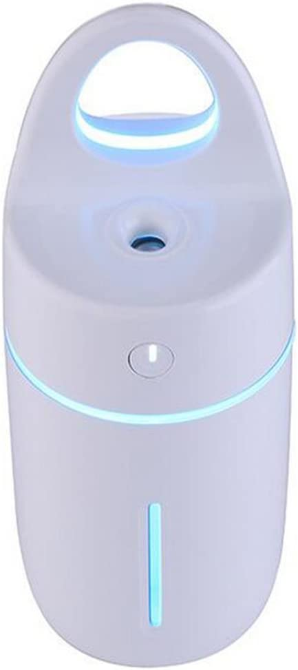 Humidificador del coche, purificador de aire profesional - blanco, con la función de la noche, capacidad de la botella de agua: 175ML, volumen del aerosol: 25-30ML / H,Blue: Amazon.es: Hogar