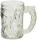 McDonalds 1995 Clear 4' Glass BATMAN FOREVER Mug