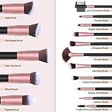 BESTOPE Makeup Brushes 16 PCs Makeup Brush Set