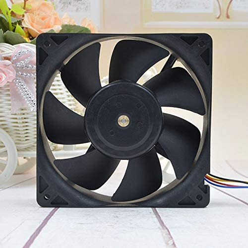 for Large Wind Ants S7//S9 B35502-35 12V 1.40A 12038 12CM 4-Wire PWM Intelligent Speed Control Fan
