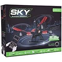 Sky Capture RC Drone Quadcopter with FPV Hawkeye Video Camera and 4CH Remote Transmitter with LCD Monitor by Global Care Market