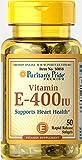 Puritan's Pride Vitamin E-400 IU-50 Softgels Review