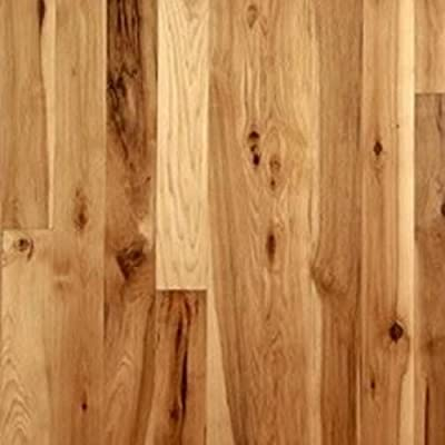 """Hickory Character Unfinished Solid Wood Flooring 5"""" x 3/4"""" Samples at Discount Prices by Hurst Hardwoods"""