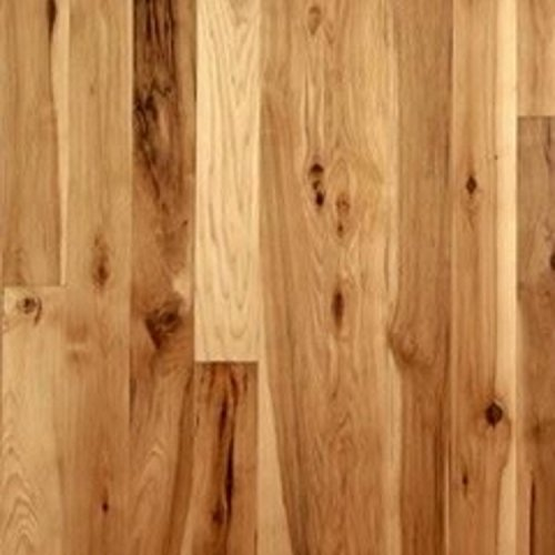 Hickory Character Unfinished Solid Wood Flooring 5