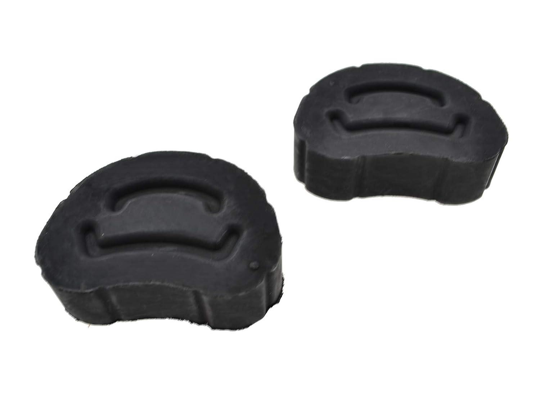 2 rodamientos de goma partworks para tubo de escape 924S//944//968 silenciador central y cat.
