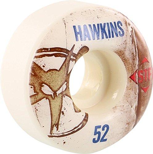 適応的口調停するBones Wheels Hawkins STF Vintage 52 MM Skateboard Wheels ( Set of 4 )