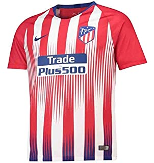 Nike 2018-2019 Atletico Madrid Home Ladies Football Soccer T-Shirt ... da546e463d6e7