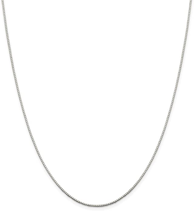 925 Silver Sterling Silver 9ct Gold Plated Flat Mirror Link Chain Necklace 46 cm