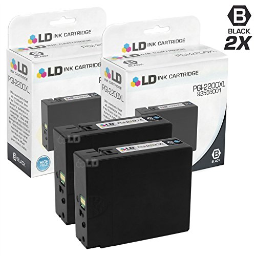 LD Compatible Ink Cartridge Replacement for Canon PGI-2200XL 9255B001 High Yield (Black, ()