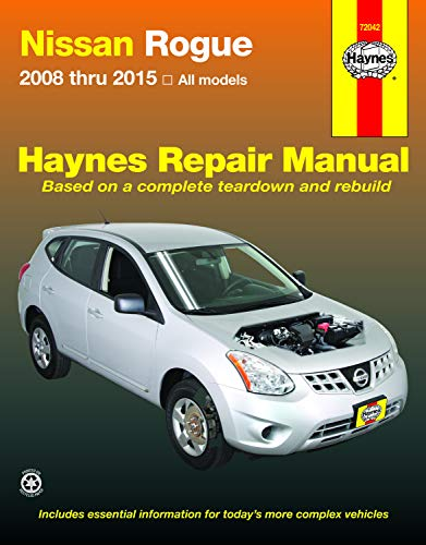 Nissan Rogue 2008 thru 2015 all model (Haynes Repair Manual)