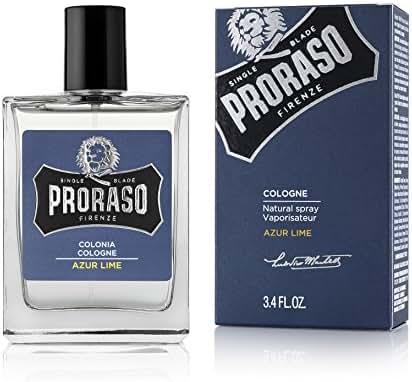 Proraso Eau De Cologne, Auzr Lime, 3.4 Fl Oz