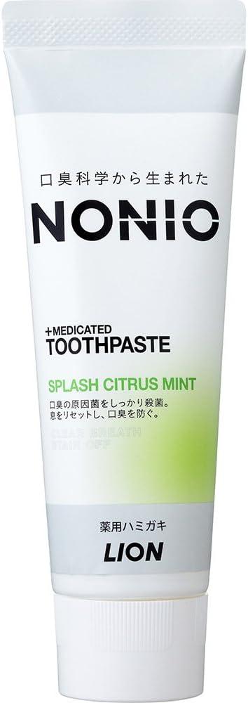 <br /> NONIO ハミガキ スプラッシュシトラスミント のサムネイル