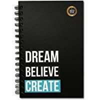 The positive store, Dream Believe Create Daily Planner for Time Management Undated Law of Attraction Gratitude Journal with Hardcover, 200 Pages (90 Days Planner), 80 GSM Paper