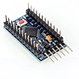 Aukru New Pro Mini V3.0 Atmega328p Micro-controller Board 5V 16MHz Replace Atmega128 for Arduino Compatible Nano