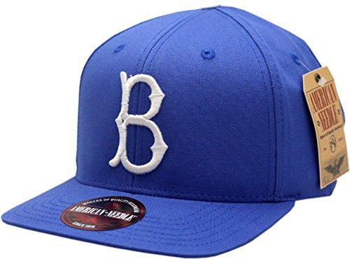7993747418e American Needle Brooklyn Dodgers Snapback Flat Bill Outfield