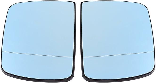 Rückspiegelglas Auto Blendschutz Türflügel Links Rechts Rückspiegelglas Beheizt Für X5 E53 1998 2006 Auto