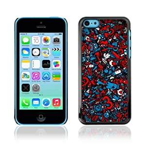 YOYOSHOP [Cool Graffiti Abstract Pattern] Apple iPhone 5C Case
