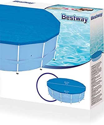 Bestway 58134 Cobertor Solar para piscinas, Azul, 100x45x115 cm ...
