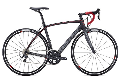 Kestrel Legend Shimano Ultegra Bicycle, Satin Carbon/Black, 55cm/Medium Advanced Sports International - Bike